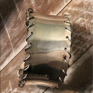 Sterling cuff bracelet...